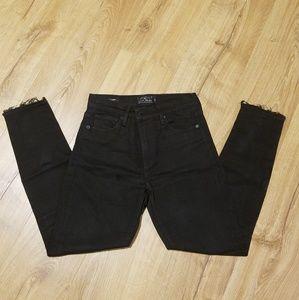 Lucky Brand Black Jeans Size 4, Bridgette Skinny